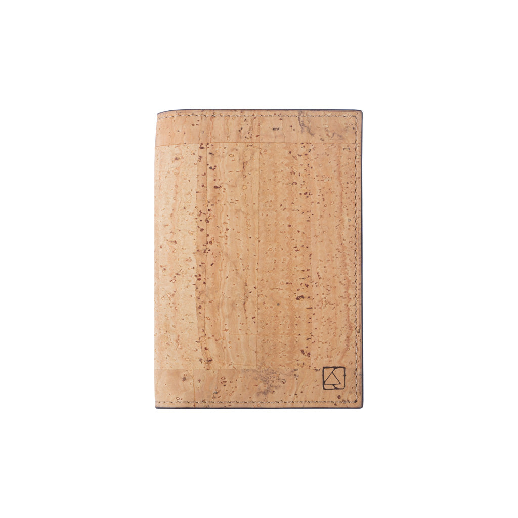 Reed Business Card Holder - Natural + Brown