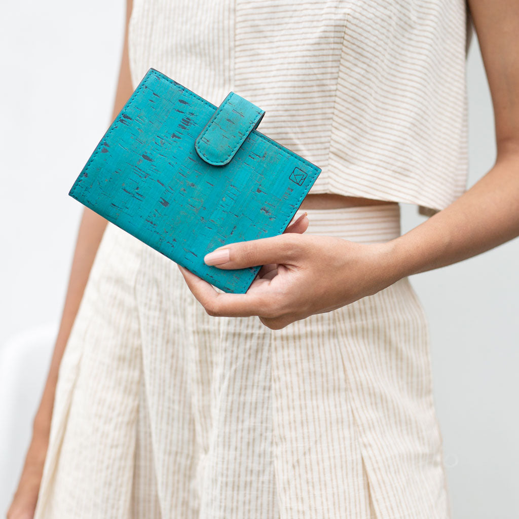 Cedar Passport Sleeve - Teal