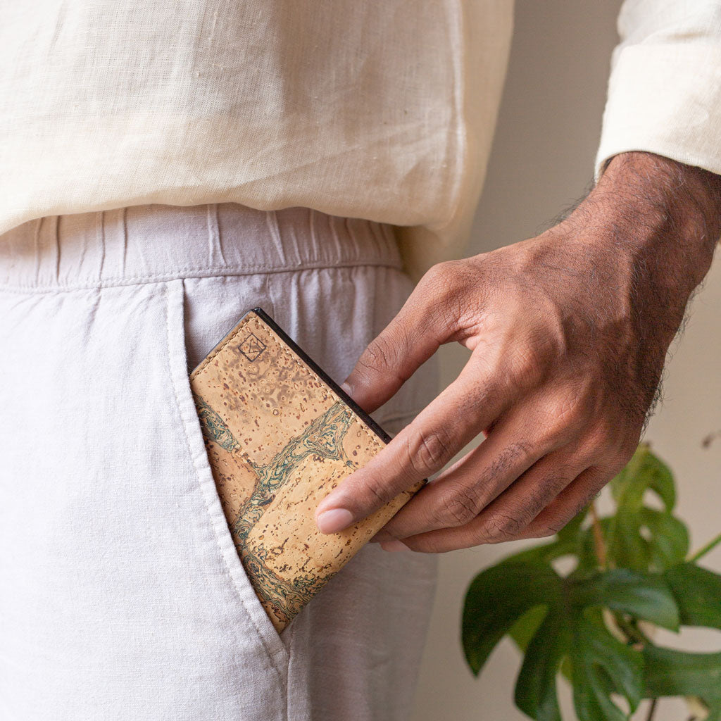 Orion Slim ID Wallet - Terrain + Olive