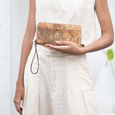 Willow Zip-around Wristlet - Terrain