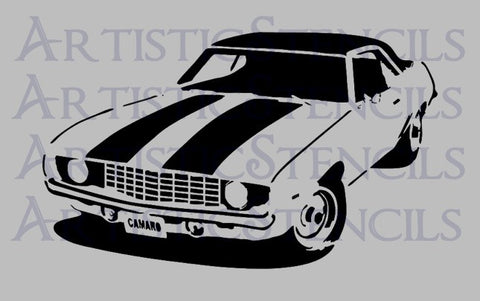 1969 Camaro Stencil - Various Sizes