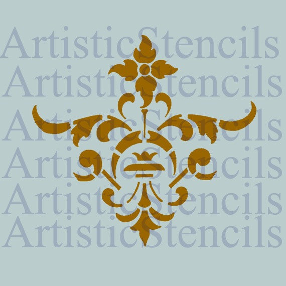 Damask No 66 Stencil - Various sizes