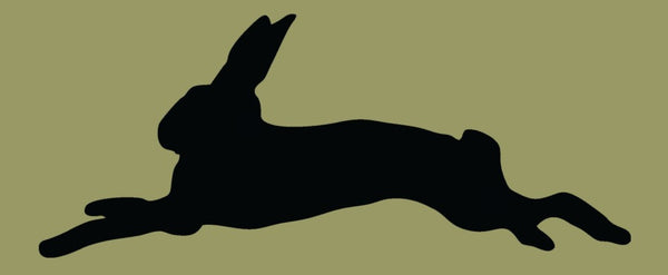 Running Rabbit Stencil - Various Sizes