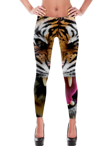 'Eye Of The Tiger' Leggings