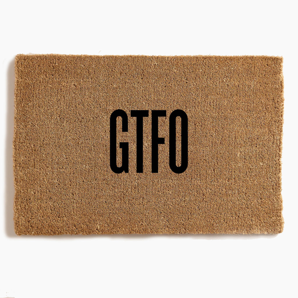 GTFO - Custom Door Mat