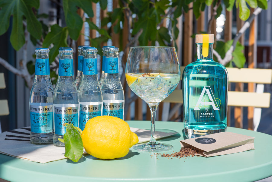 AARVER LIDO Summer Gin & Tonic