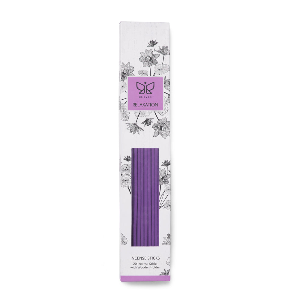 Relaxation Coloured Incense Sticks - Deivee