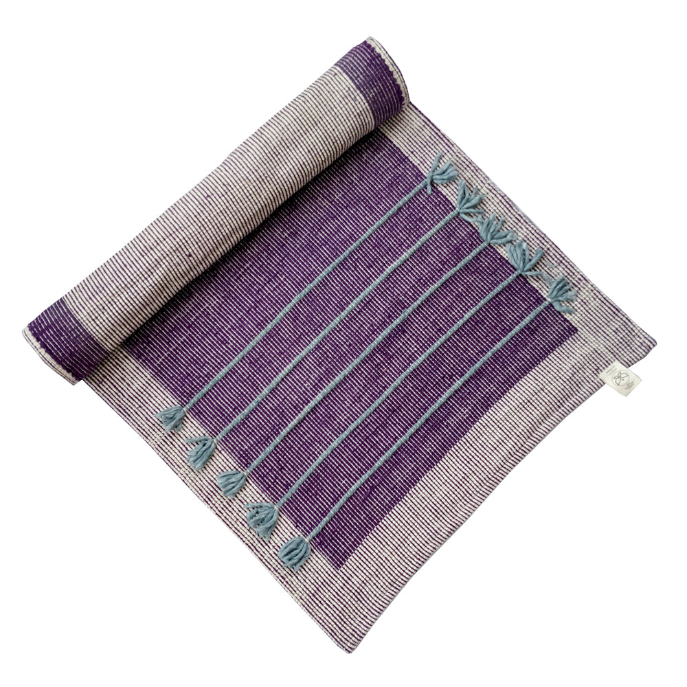 save up to 60% unparalleled wide varieties Nirvana Violet Cotton Yoga Mat