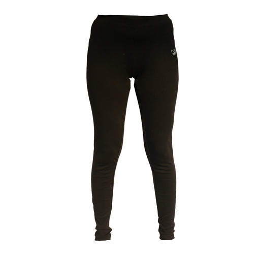 Black Fitted Ankle Length Pants (Tights)
