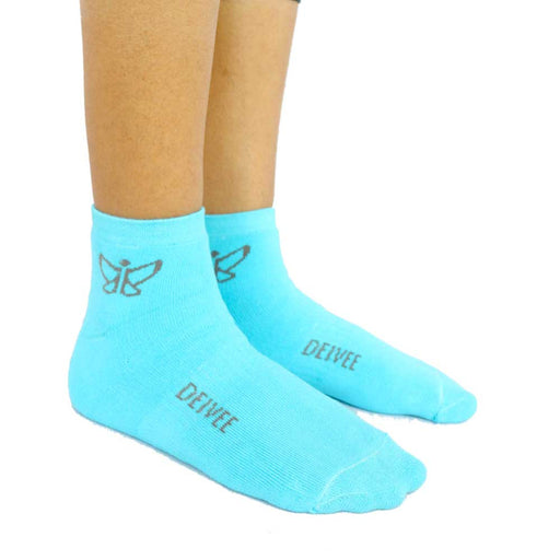 Blue Antimicrobial Socks - Deivee