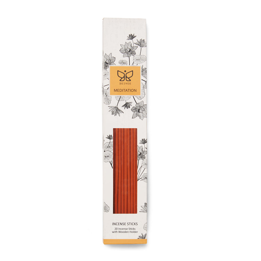 Meditation Coloured Incense Sticks - Deivee