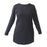 Deivee Paneled Kurti For Gym / Yoga - Black - Deivee