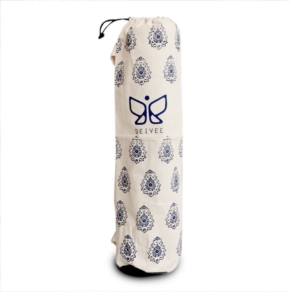 Deivee Printed Yoga Bag
