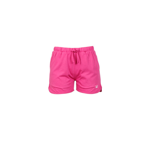 Deivee Pink Cotton Basic Shorts For Women