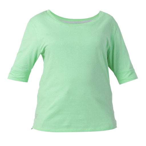 Cabbage Green Yoga T-Shirt - Deivee