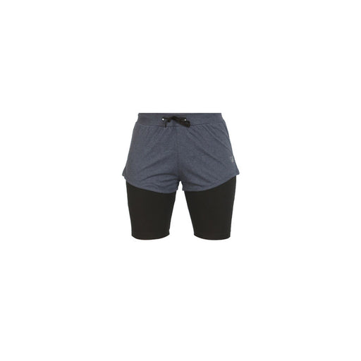 Deivee-Navy Melange - Shorts / Yoga Tight
