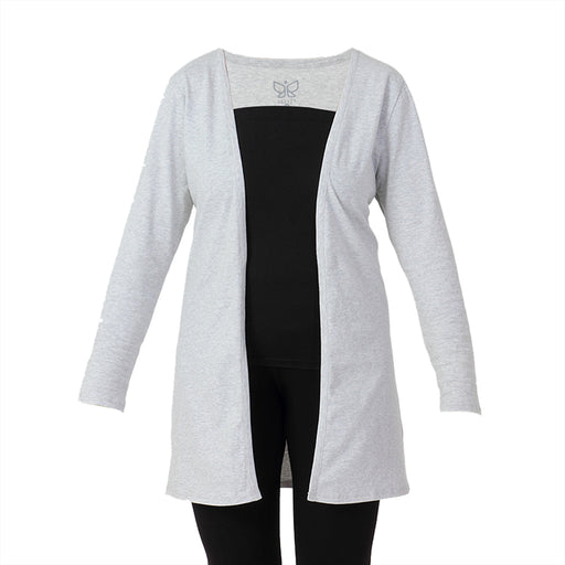 Grey Melange Shrug - Deivee