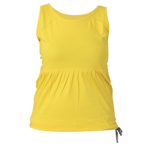 Apple Green Drawstring Tank Top - Deivee