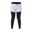 Black & Grey Layered Tights with Shorts