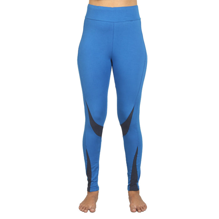 Royal Blue Sculpted Yoga Tight - Deivee