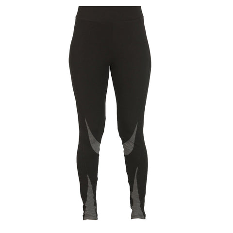 Black - Sculpted Yoga Tight - Deivee