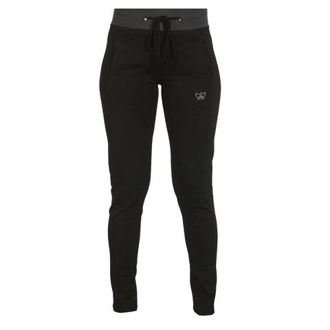 Black - Ribbed Yoga Pant - Deivee