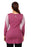 Deivee Paneled Kurti For Gym / Yoga - Rasberry - Deivee