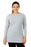 Deivee Paneled Kurti For Gym / Yoga - GREYISH BLUE - Deivee