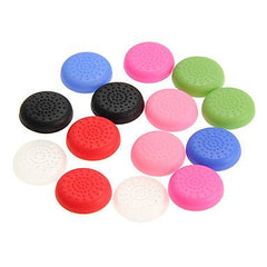 Silicone Analog Controller Joystick Luminous Thumb Stick Grips Caps Cover for PS4