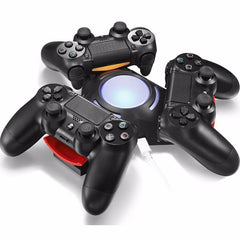 PS4 Triple Charger Dual Controller USB Charging Dock