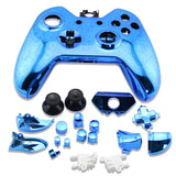Xbox One Wireless Controller Housing Case Shell Button Kit Electroplating Blue