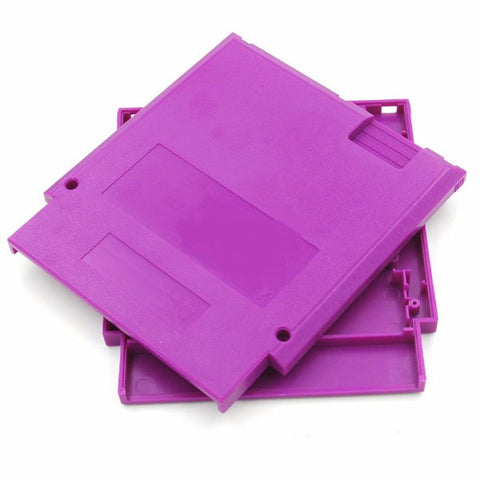5 Sets 72 Pins Game Cartridge Case for NES Cartridge Shell with Screw Repart part