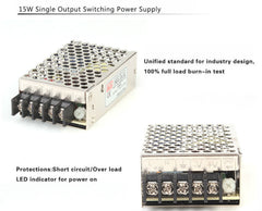 (NES-15-5) NES series 15W SMPS 5V 3A Switching Power Supply
