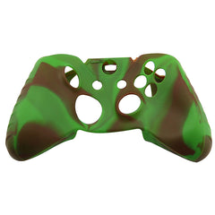 Silicone Case Cover for XBOX One Controller Green Coffee