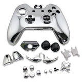 Housing Case Shell Button Kit for Xbox One Wireless Controller Silver
