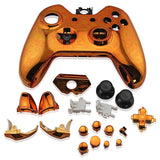 Housing Case Shell Button Parts Kit for Xbox One Wireless Controller Electroplating Orange
