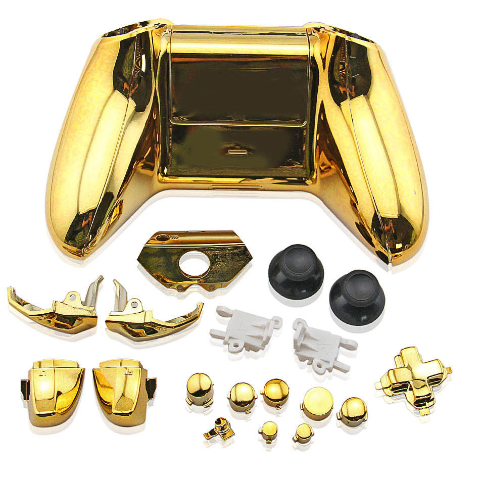 Housing Case for Xbox One Wireless Controller Electroplating Golden