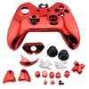 Xbox One Wireless Controller Housing Case Shell Button Kit Red