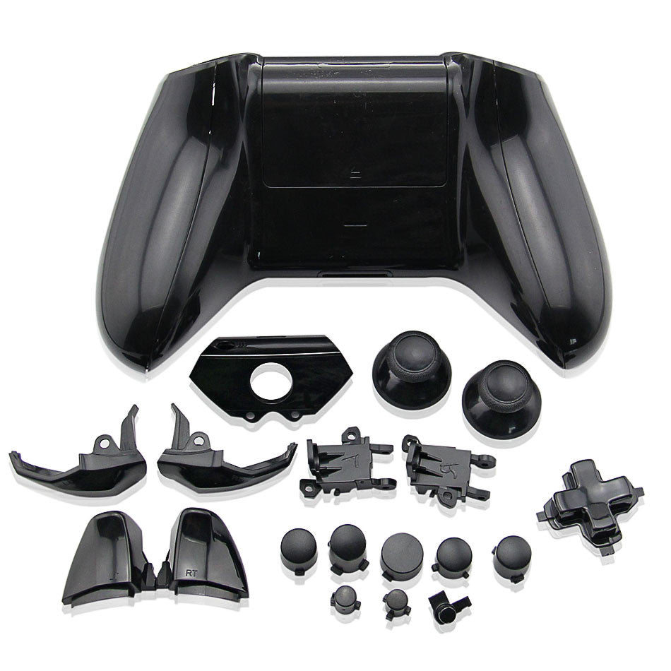Replacement Controller Shell Case Parts for Xbox One Black