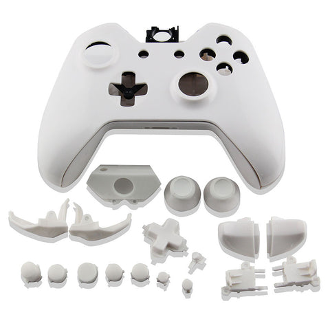 Replacement Full Housing Shell Case Parts For Xbox One Wireless Controller White