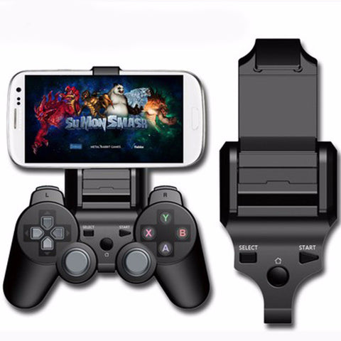 PS3 Adjustable Bluetooth Android Cell Phone Clamp Game Clip Mount Holder Stand for Playstation PS3 Controller