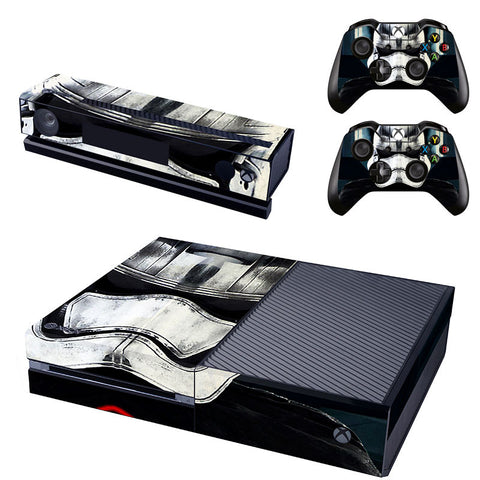 Star Wars Stormtrooper Vinyl Skin Cover Stickers For Xbox One Console and Controller