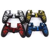 PS4 Fashion Silicone Rubber Gel Skin Case Cover for Controller
