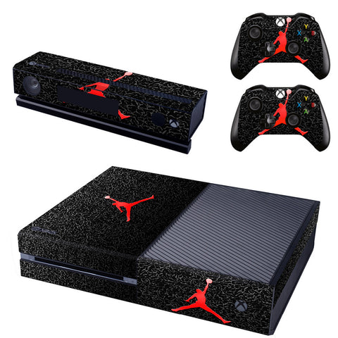 Michael Air Jordan Vinyl Skin Sticker for Xbox One Console and Controller