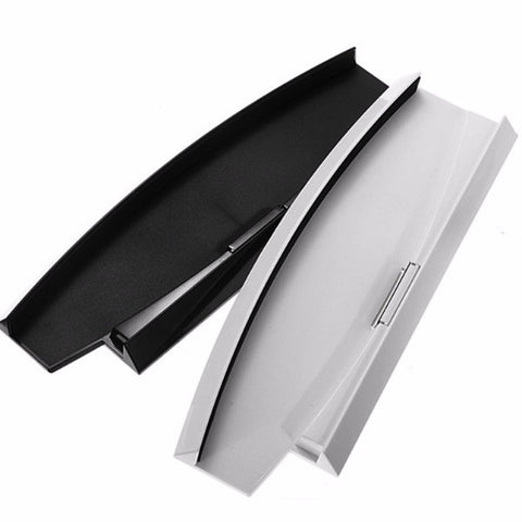 PS3 Black/White Color Vertical Stand Dock Base For PS3 Slim Console