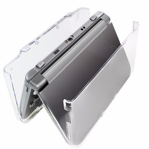 3DS Stylish Transparent Plastic Clear Crystal Protective Hard Shell Skin Case Cover For 3DS XL LL