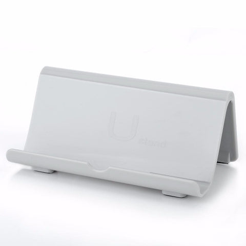 White Support Cradle Stand for Nintendo Wii U