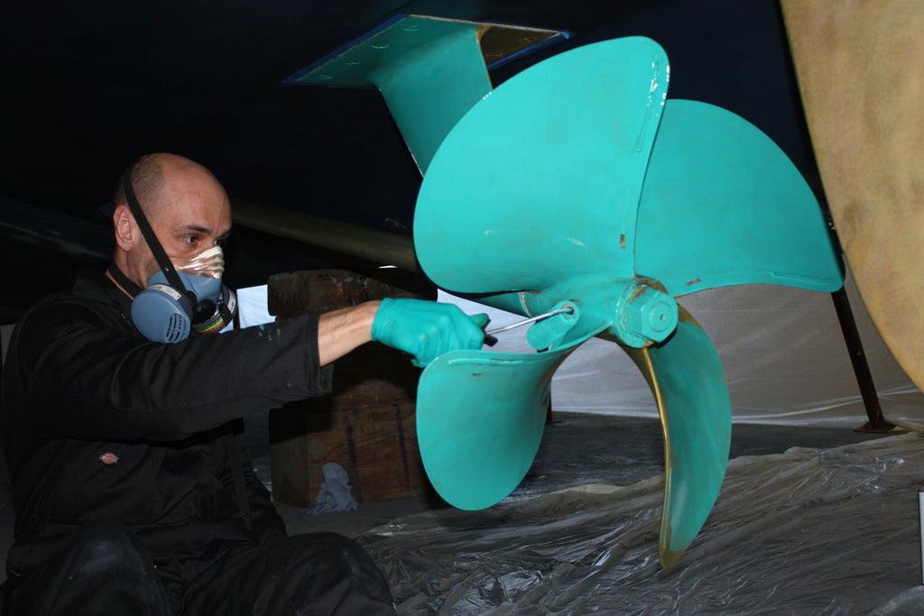 Top Ten Reasons to Paint Your Boat Propellers and Running Gear
