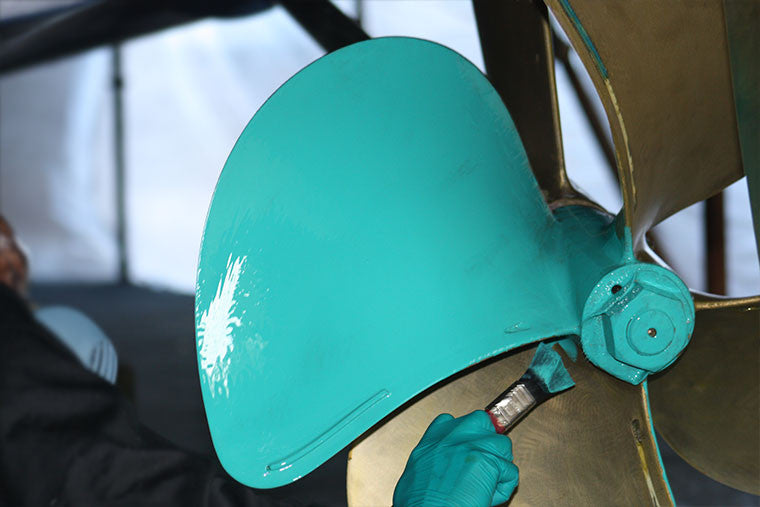 Propeller Paint – Keeping your gear clean