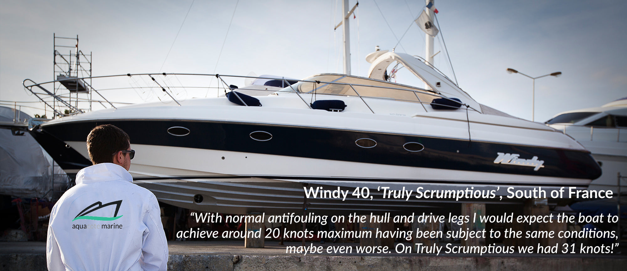 Windy 40 Performance Trials Foul Release Paints